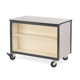 Mobile Storage - Open Shelves