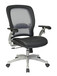 Taylor Mesh Back Leather Seat Task Chair