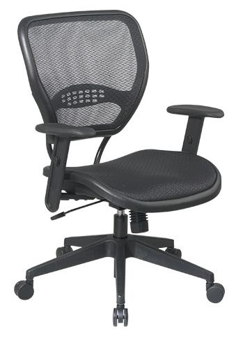 Taylor Mesh Back Task Chair With Fixed Lumbar Support