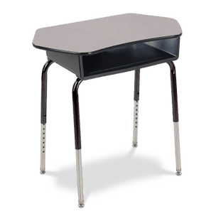 785 Series Student Desk with Collaborative Top