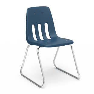 Classic Sled-Based Chairs
