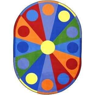 Colour Wheel Rug Accent Environments