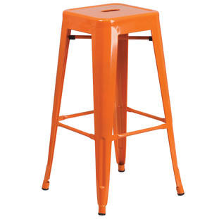 Metal Cafe Stool