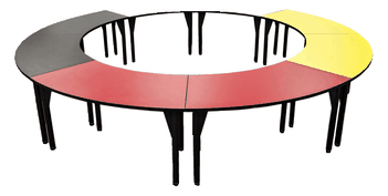 Medicine Wheel Ring Table