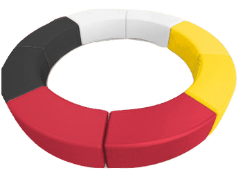 Medicine Wheel Ring Seating