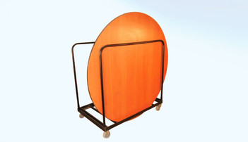 Round Folding Table Transporter