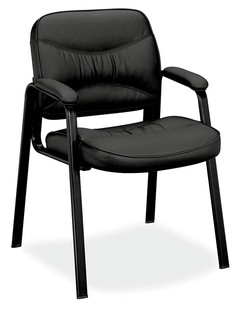Ultra Series Leather Guest Chair