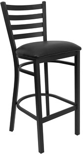 Regale Metal Frame Bar Stool