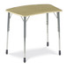 Zuma Adjustable-Height Bowfront Student Desk