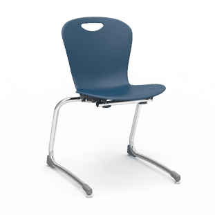 Zuma Stacking Cantilever Chair
