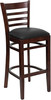 Regale Wood Frame Bar Stool